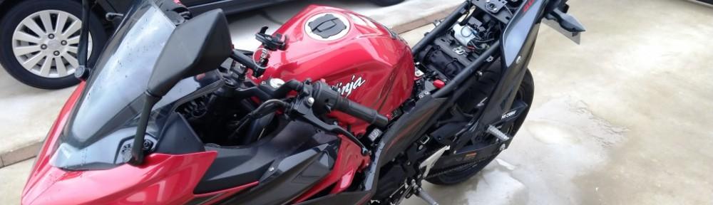 バイク修理①