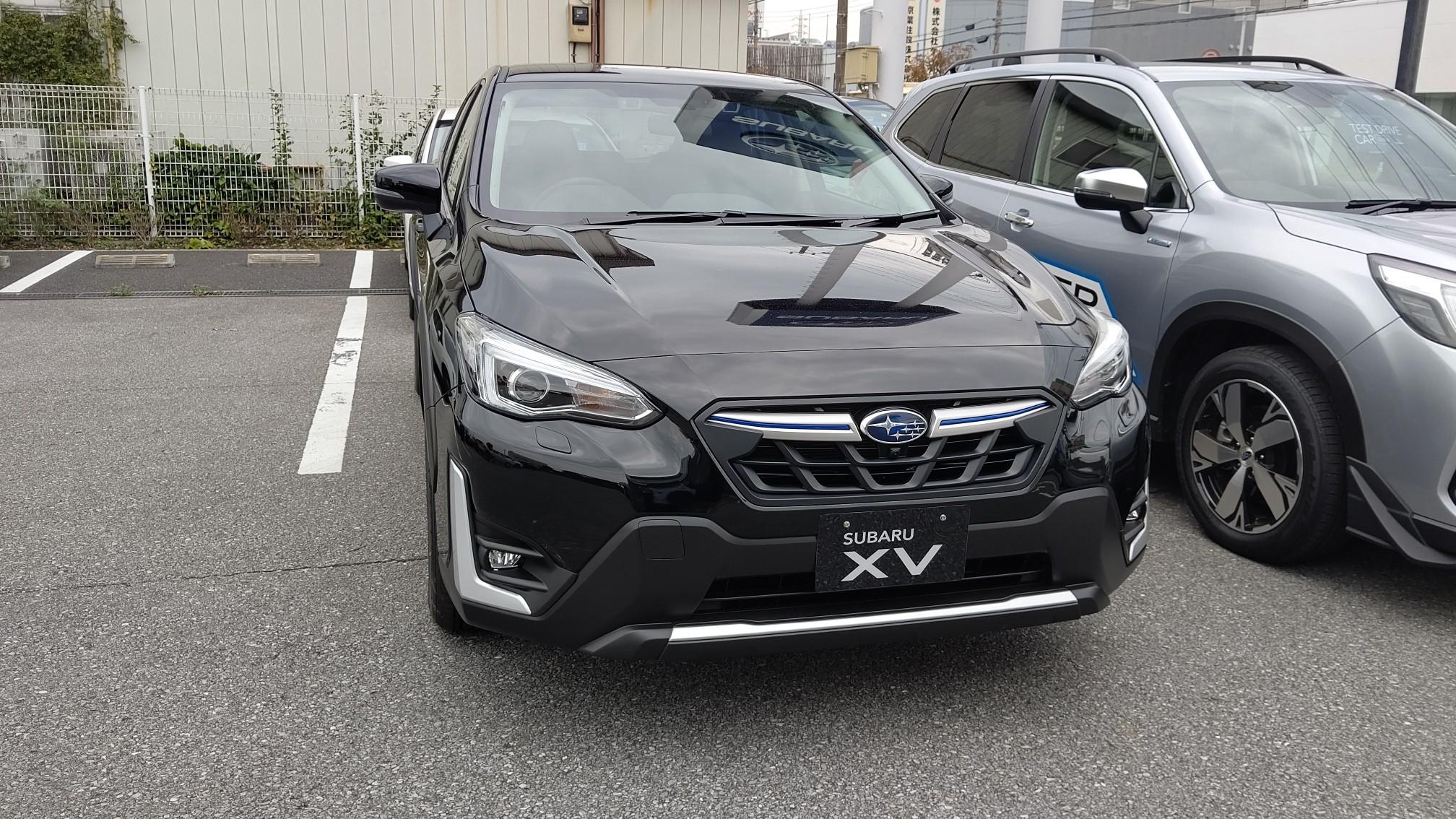 Xv 新型 スバル